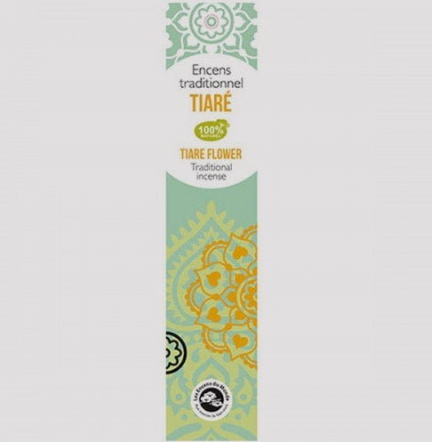 Tiare Flower Traditional Incense Sticks - Pack of 20