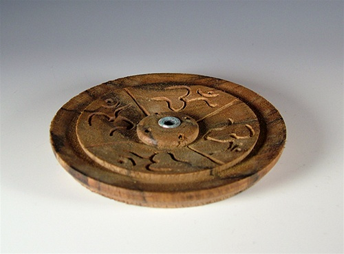 Wooden Incense Ash Catcher for Tibetan Incense