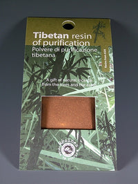 Tibetan Resin of Purification - Powdered Incense