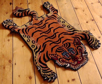 Small Tibetan Tiger Rug - Meditation Seat