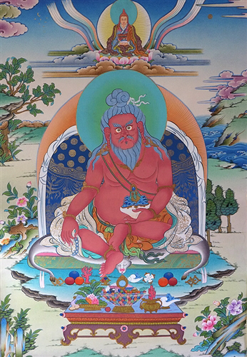 Fine Thangtong Gyalpo Thangka