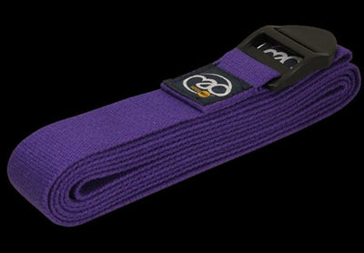 PURPLE COTTON YOGA BELT - 2.5 Metre