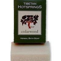 Tibetan Hotsprings Cedarwood Soap - 100g