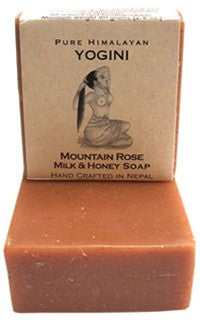 Yogini Mountain Rose Milk Soap - 80g