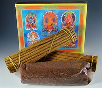 Zambala Incense Pack - Two rolls of sticks and One pack of Sang