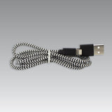 Zeus 6 FT. Dual Platform Charger Cable - Android & iPhone Compatibility