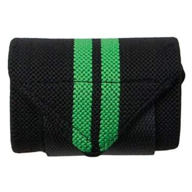 Weight Lifting Wrist Wrap - BlackGreen
