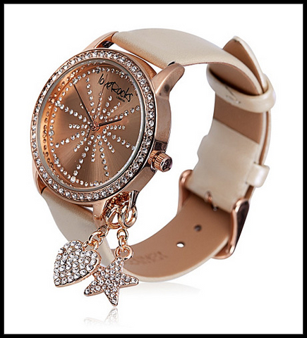 LoveRocks London Detachable Charm Watch
