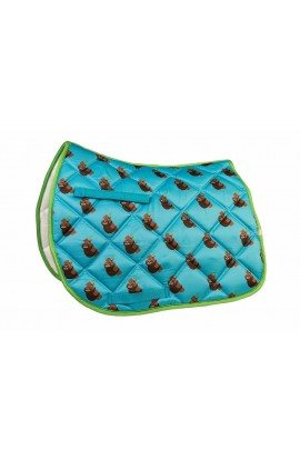 Lettia Saddle Pad with Sloths