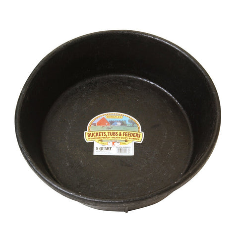 Rubber Feed Pan - 8 Qt.