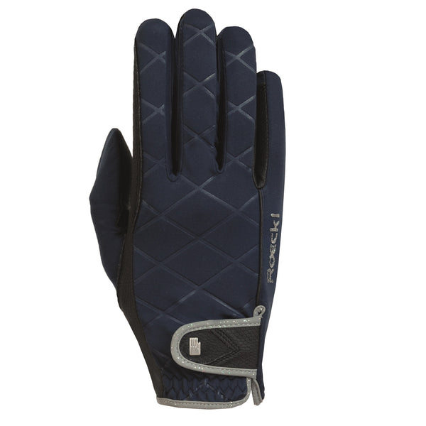 Roeckl Julia Winter Riding Glove - Navy