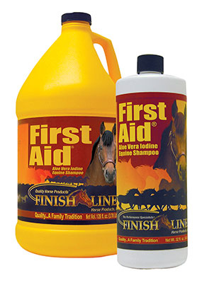 Finish Line Products First Aid Shampoo