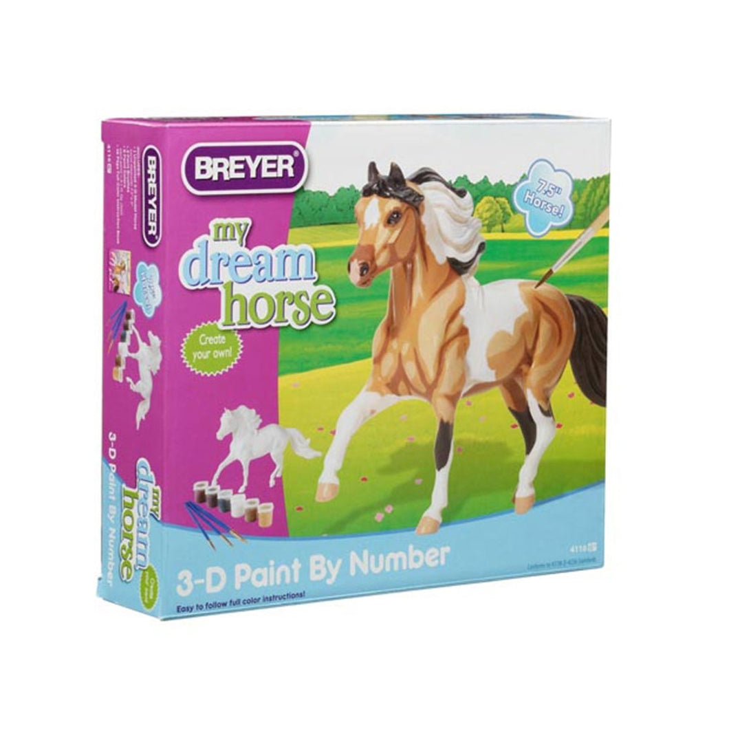 Breyer Model Horse 3-D Paint By Number