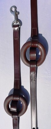 Black Oak Donut Side Reins