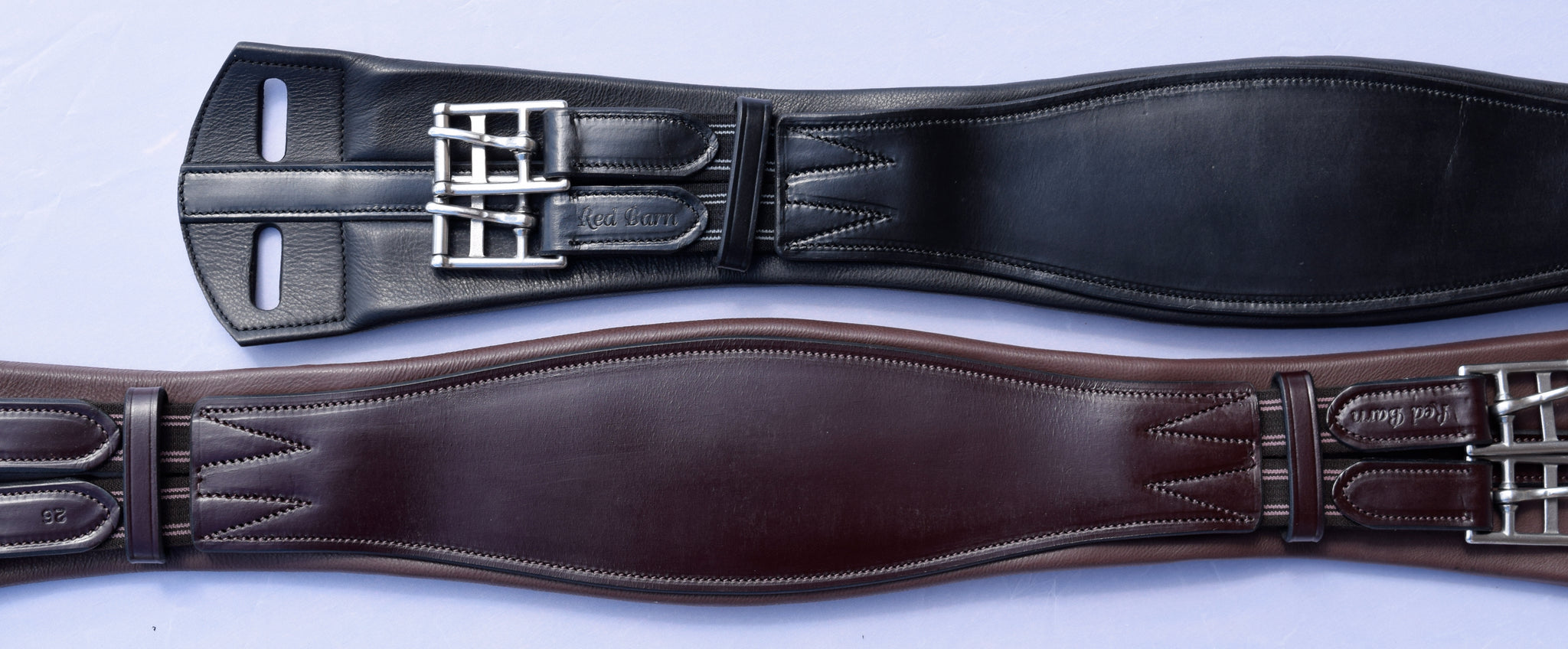 Red Barn Smart Leather Dressage Girth