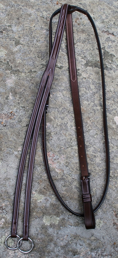 Red Barn Fancy Stitched Running Martingale