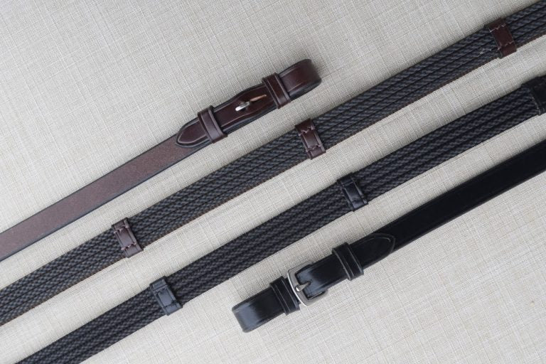 Red Barn Special Grip Reins