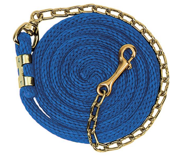 Weaver Poly Lead Rope with Chain