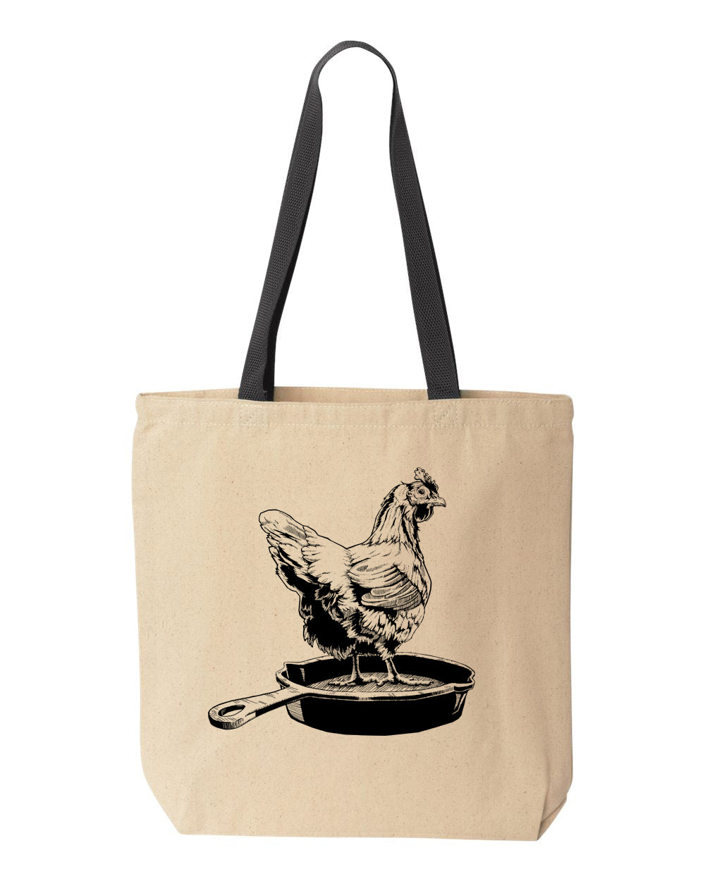 Chicken Pan Tote Bag