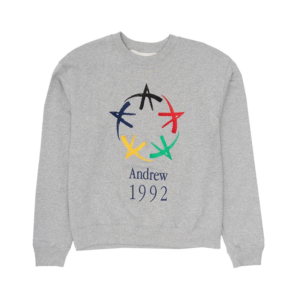 All-Star Crewneck - Heather Grey