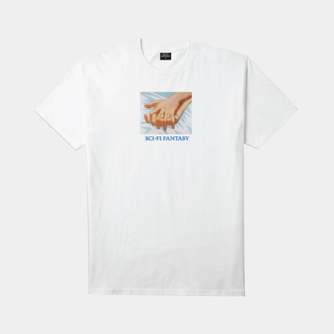 Sci Fi Fantasy - Holding Hands Tee White