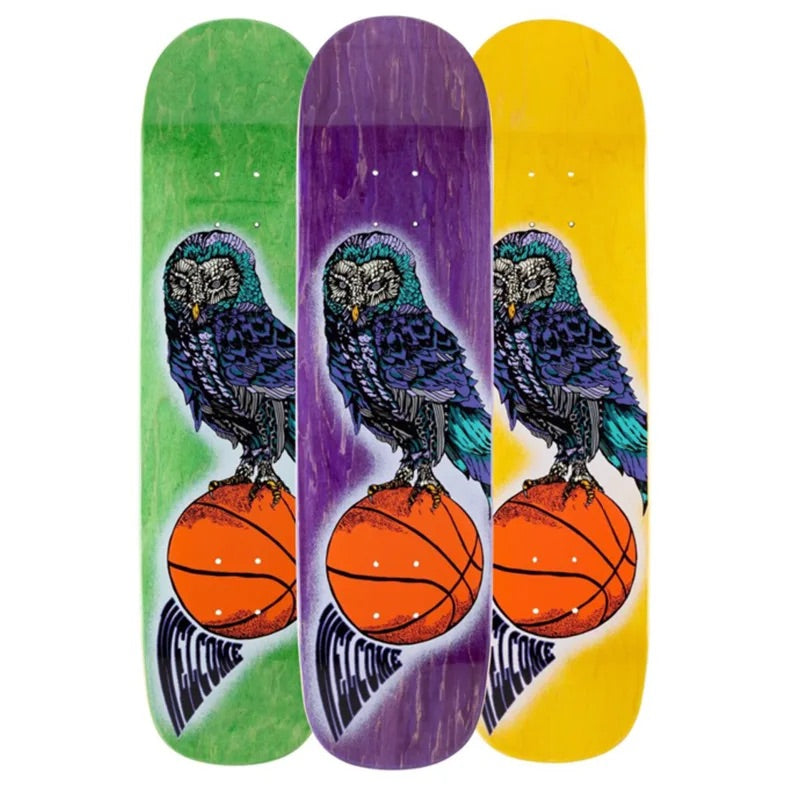 Welcome Skateboards - Hooter Shooter on Bunyip