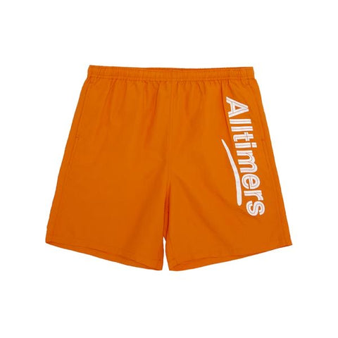 Alltimers Skateboards - Swim Shorts Orange