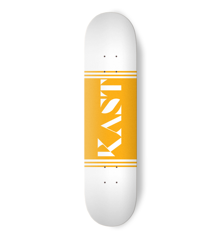 Kast Skateboards - Yellow Logo