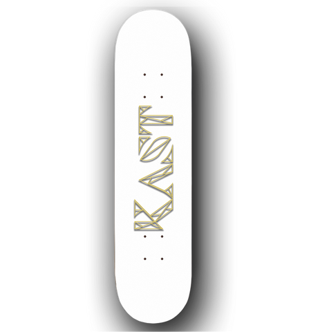 Kast Skateboards - Art Deco Raised Reflective Ink