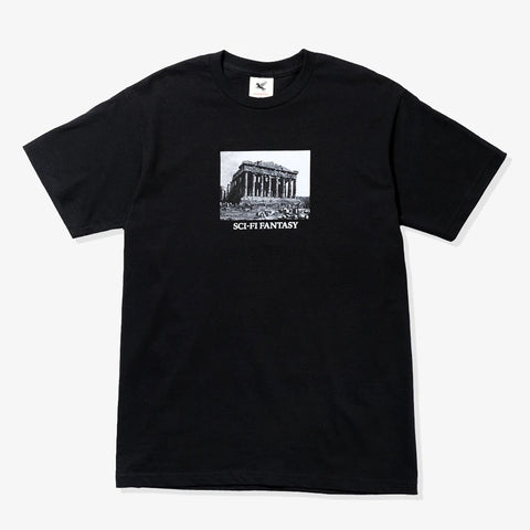 Sci Fi Fantasy - Pantheon Building Tee Black