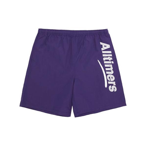 Alltimers Skateboards - Swim Shorts Purple