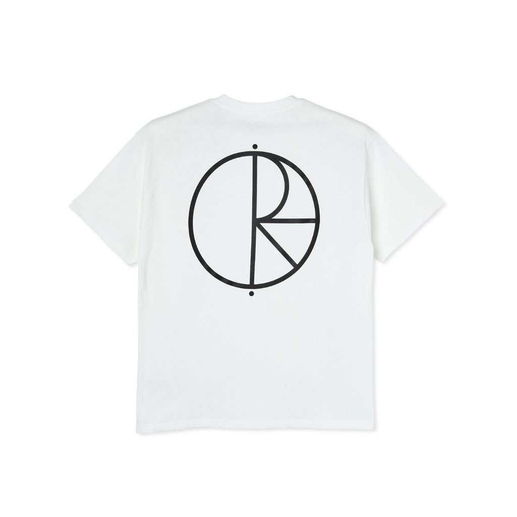 Polar Skate Co - Stroke Logo Tee White