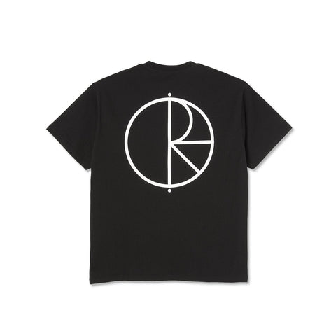 Polar Skate Co - Stroke Logo Tee Black