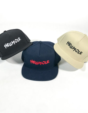 Hockey Skateboards - Hellhole Logo Snapback Hat