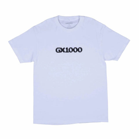 GX1000 - Dithered Logo White