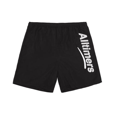 Alltimers Skateboards - Swim Shorts Black