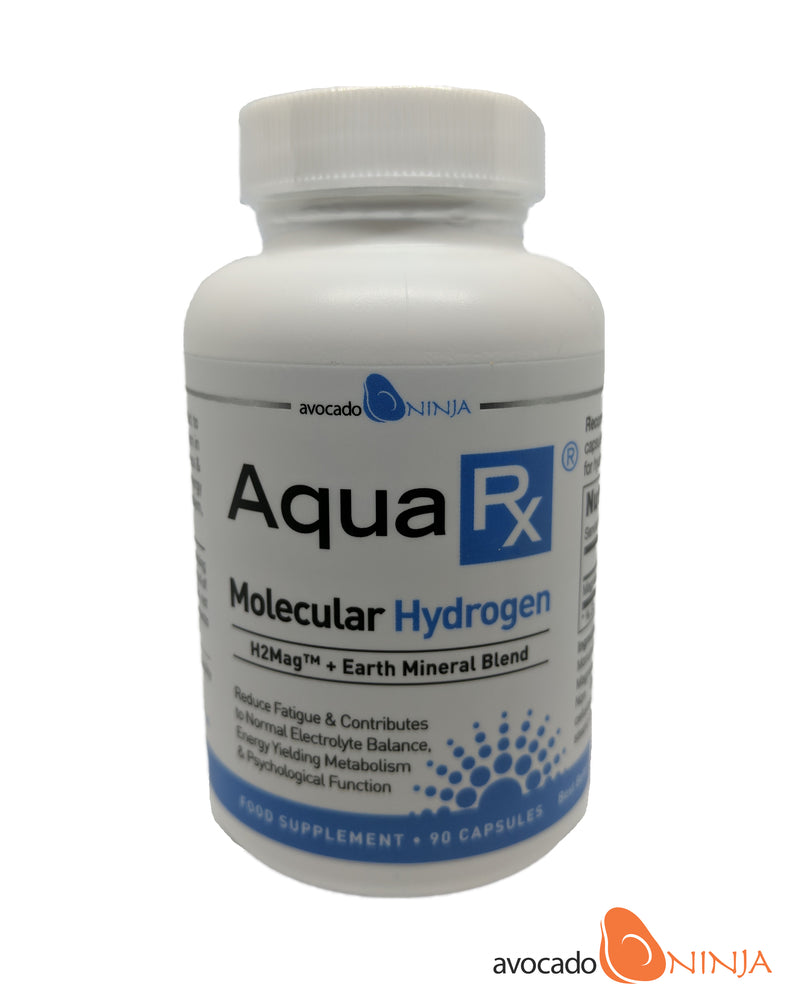 AquaRx Molecular Hydrogen with Fulvic Minerals (90 capsules) (New Improved Formula)