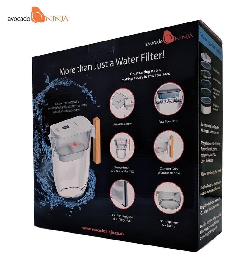 Ninja Alkaline Water Jug - Special Launch Offer - Only £49.99 (Usual RRP £69.99)