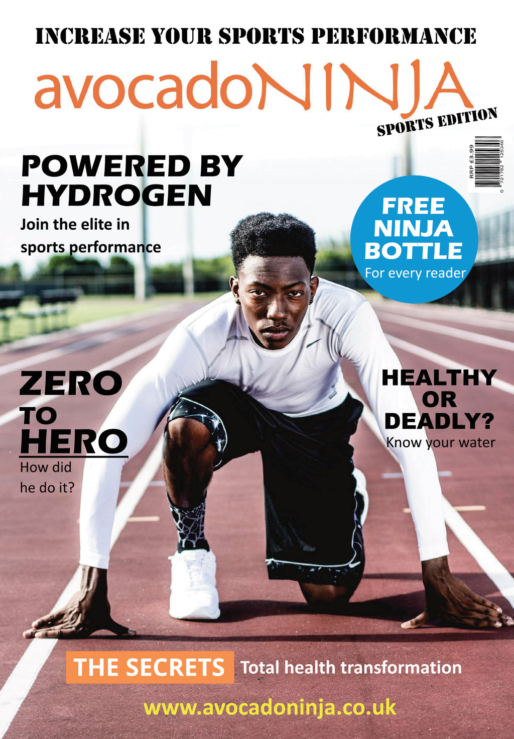 Avocado Ninja Magazine - Sports Edition