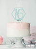Hexagon 16th Birthday Cake Topper Premium 3mm Acrylic Mint Green