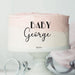 Baby George Font Style Name Cake Motif