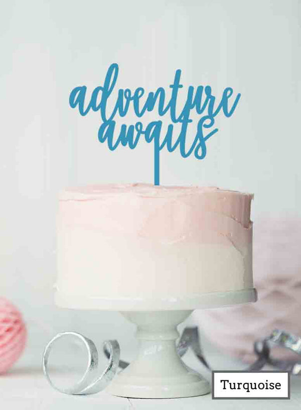 Adventure Awaits Hen Party Acrylic Shopify - Turquoise