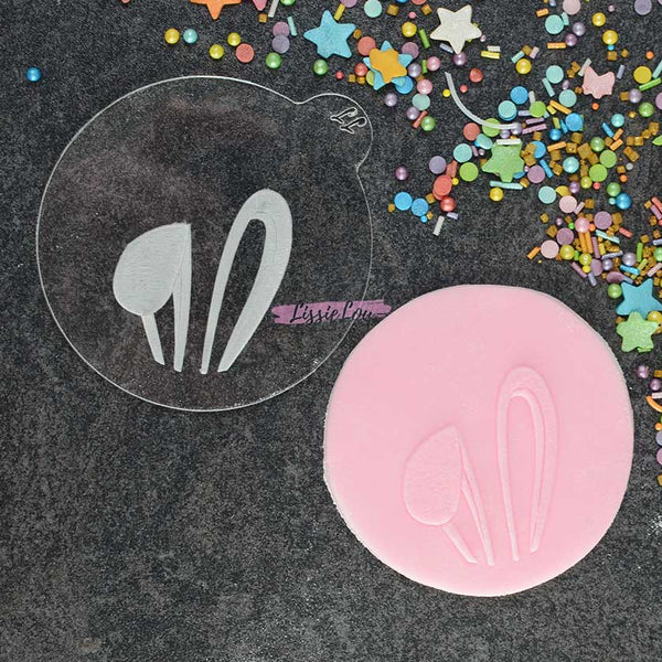 Bunny Ears Cookie Embosser