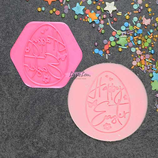 Decorative Egg Cookie Stamp