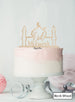 Eid Mubarak Mosque Acrylic Cake Topper Birch Wood