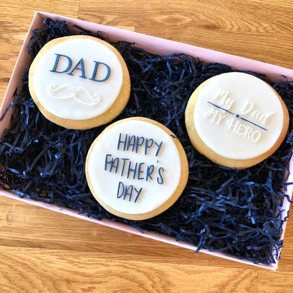 Father's Day Set of 3 Cookie Embossers