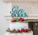 Gin O'Clock Cake Topper Cake Topper Glitter Card Light Blue