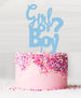 Girl or Boy? Cake Topper - Acrylic