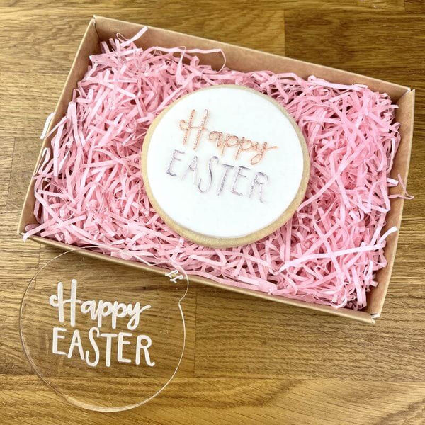 Happy Easter Style 2 Cookie Embosser
