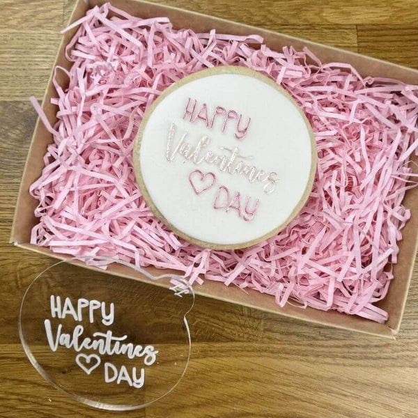 Happy Valentine's Day Style 2 Cookie Embosser